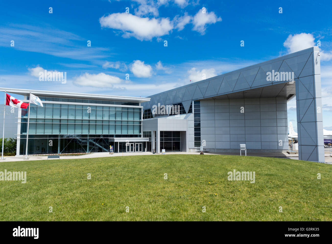 Canadian Aviation and Space Museum in Ottawa, Ontario, Canada - Stock Image