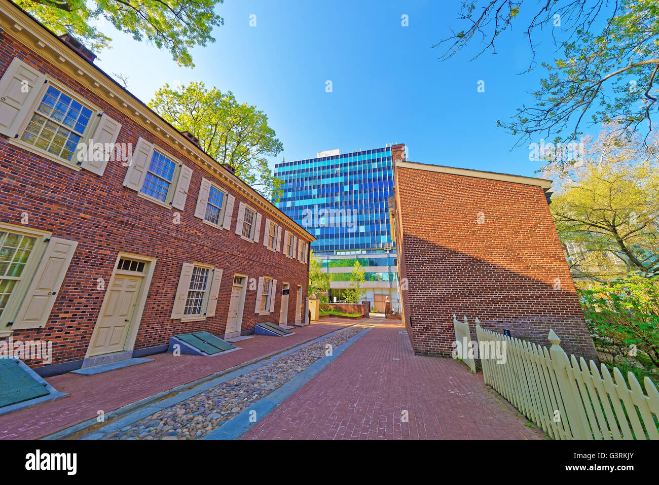 New Hall Military Museum in the Old City in Philadelphia, Pennsylvania, the USA. - Stock Image