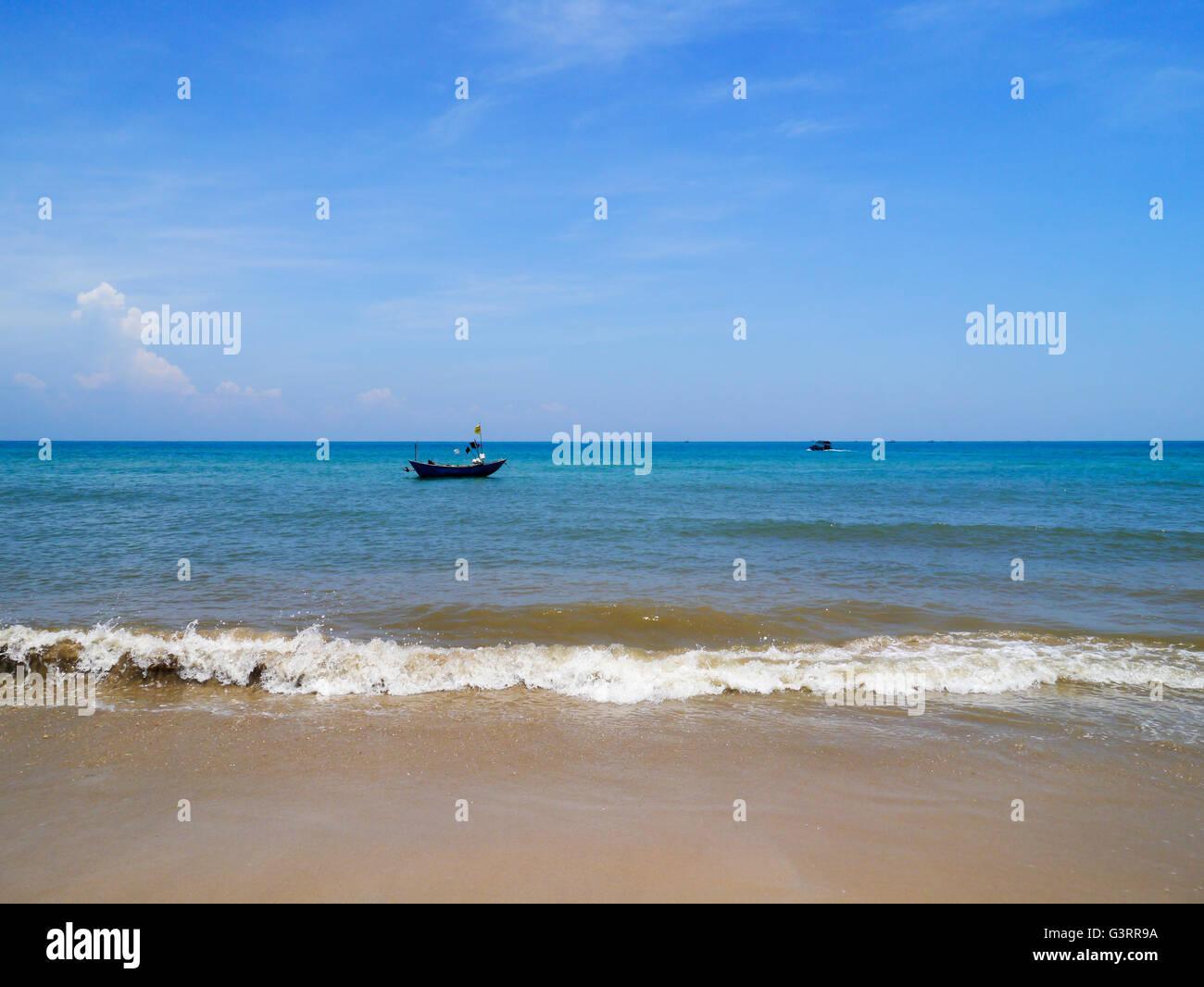 Weizhou Island of Guangxi province in the Gulf of Tonkin, China. Stock Photo