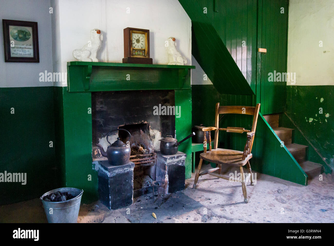 Irish Cottage Interior Stock Photos Irish Cottage