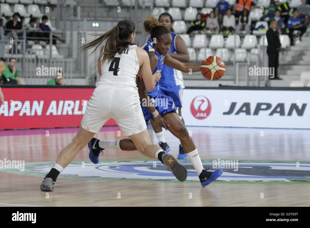 Nantes, France. 15th June, 2016. at the Group A match New Zealand - Cuba Pre Olympic Tournament at the stage of - Stock Image