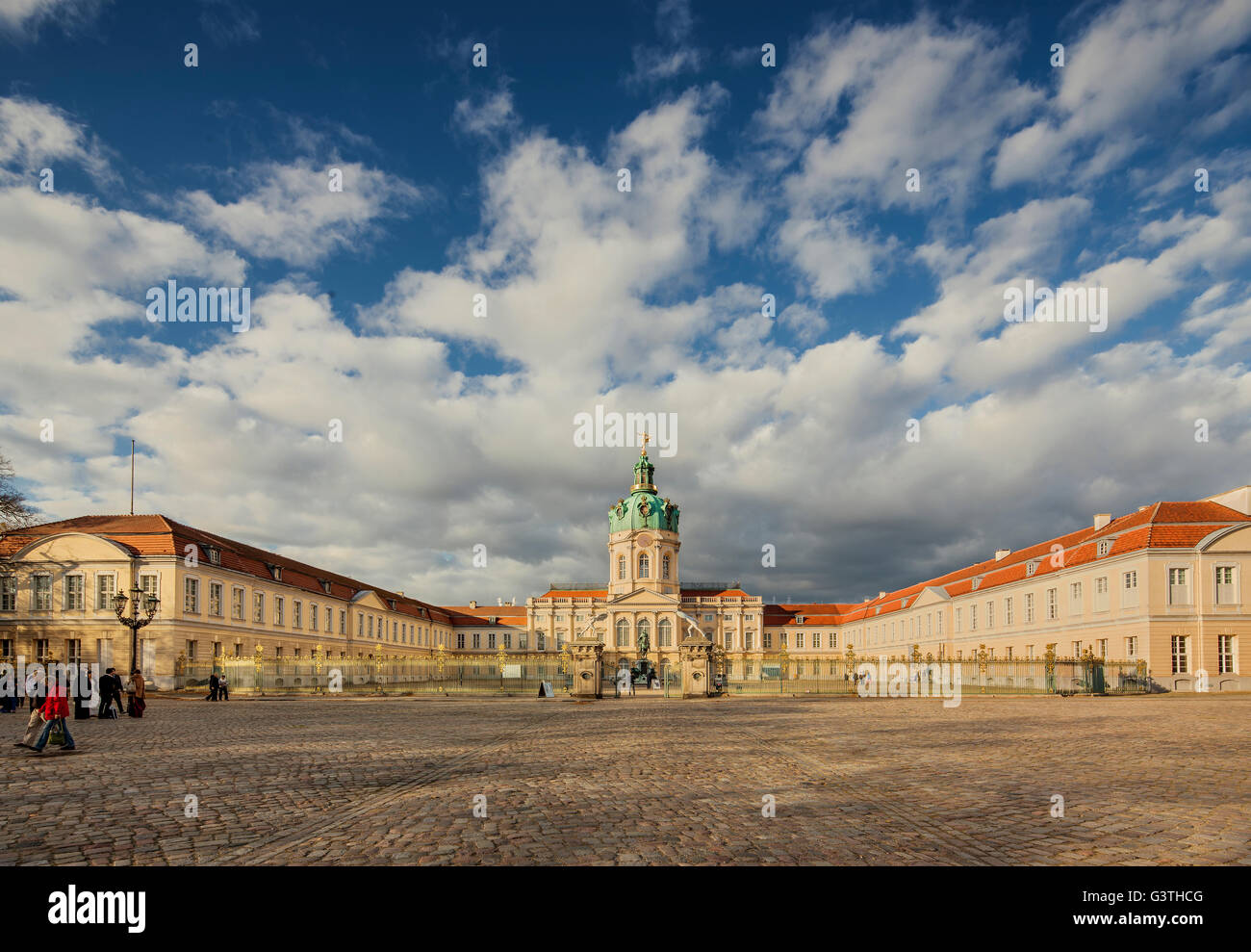 Germany, Berlin, Tyskland, View of Charlottenburg Palace - Stock Image