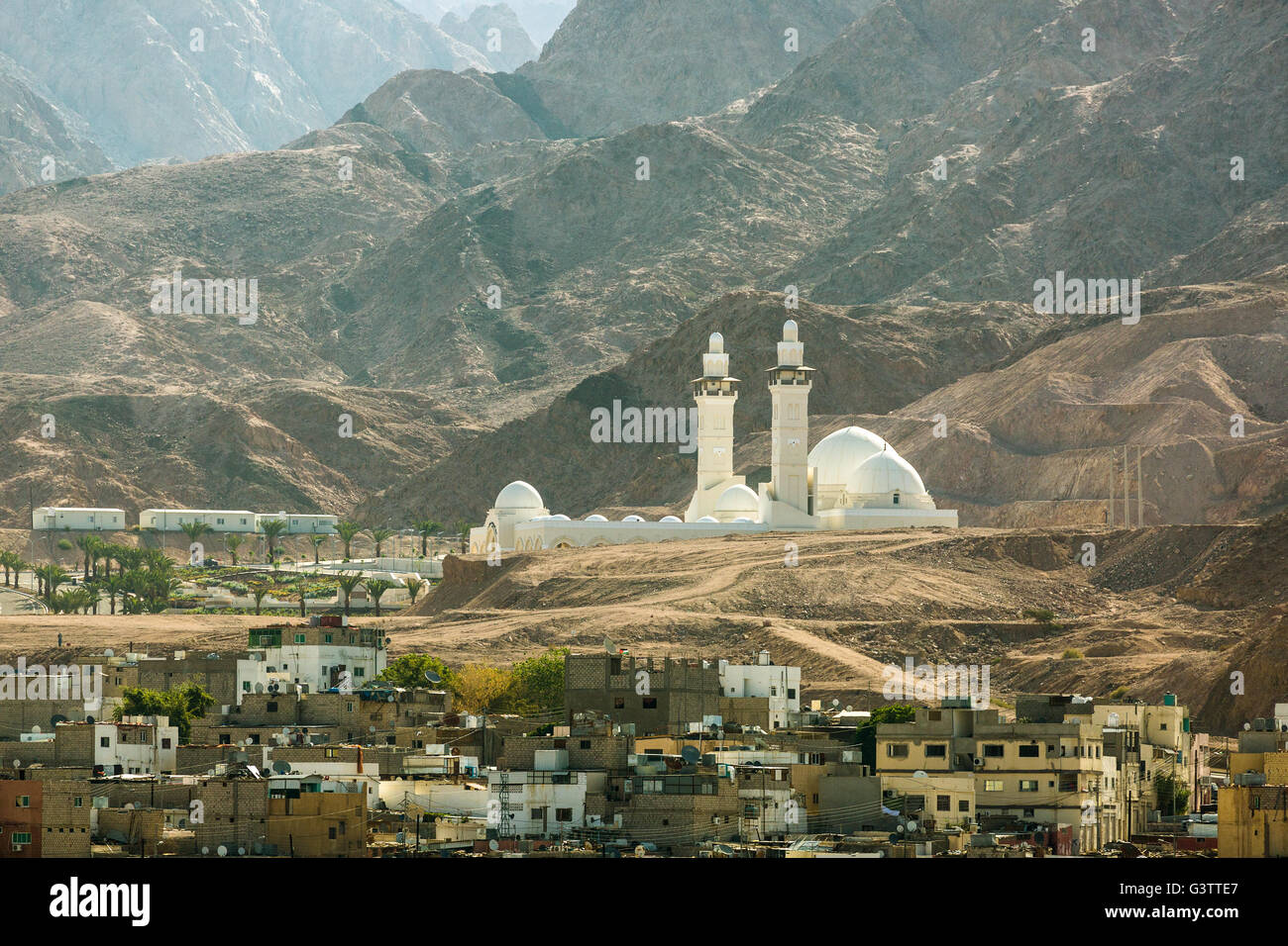 Jordan - the Al-Sharif Al-Hussein bin Al Mosque - Stock Image