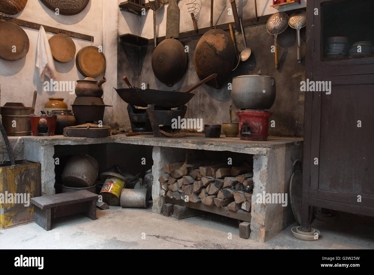 Charmant Chinese Kitchen (old Style)