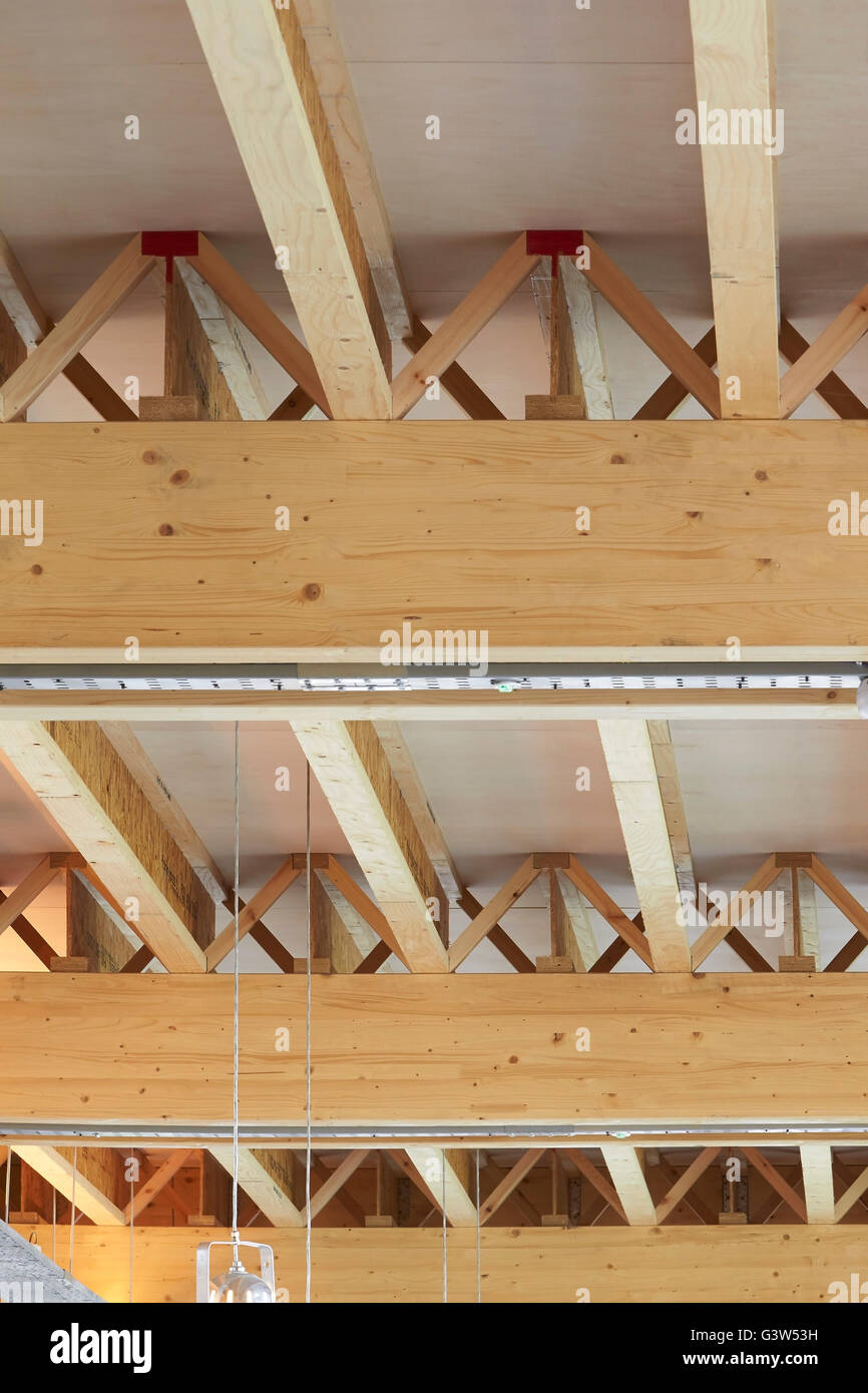 Exposed Timber Ceiling The Green Room London United