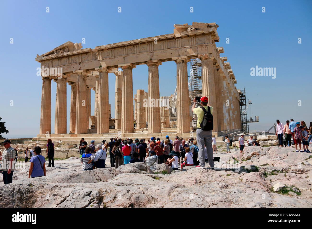 Parthenon, Akropolis, Athen, Griechenland. Stock Photo