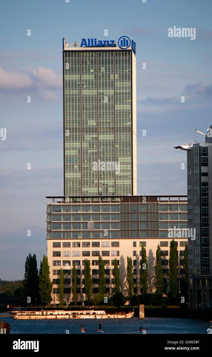 Allianz Zentrale, Berlin. - Stock Image