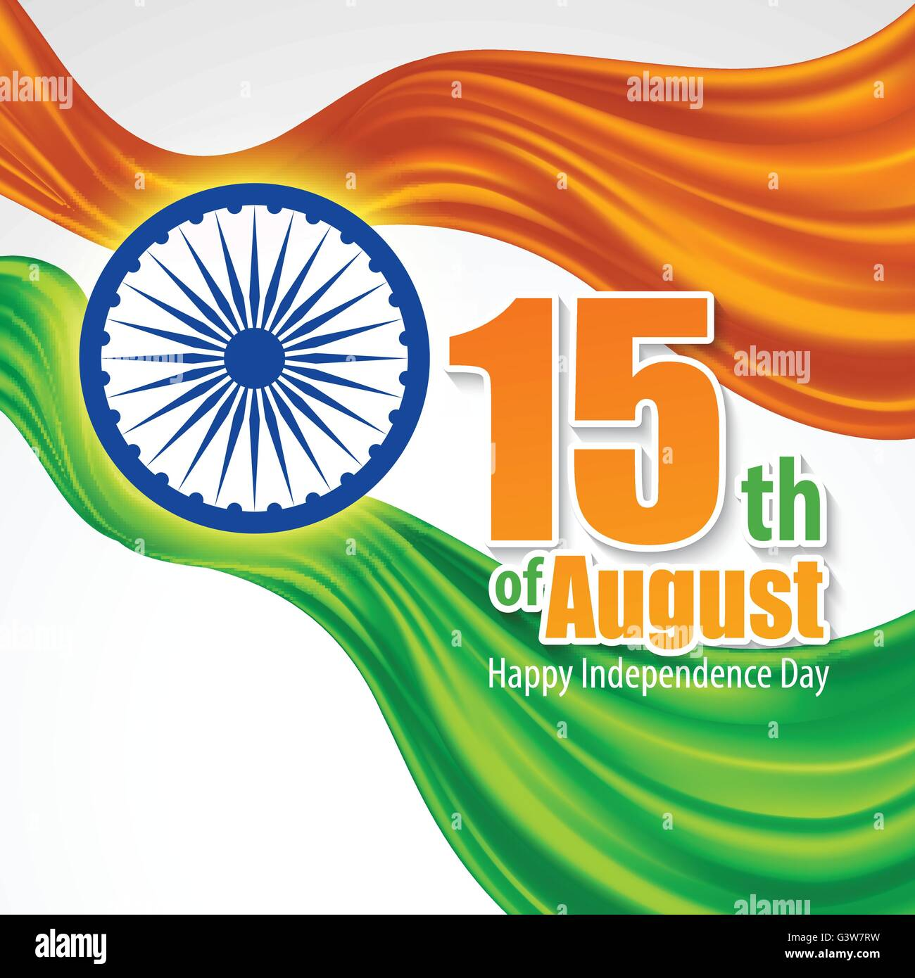 Independence Day India Background Template For A Poster Leaflet