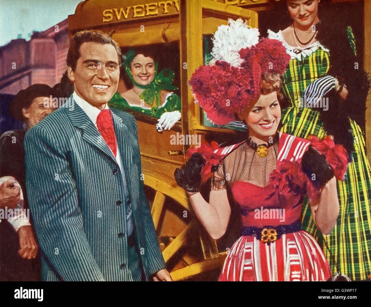 The Redhead From Wyoming, aka: Feuerkopf von Wyoming, USA 1952, Regie: Lee Sholem, Darsteller: William Bishop, Maureen - Stock Image