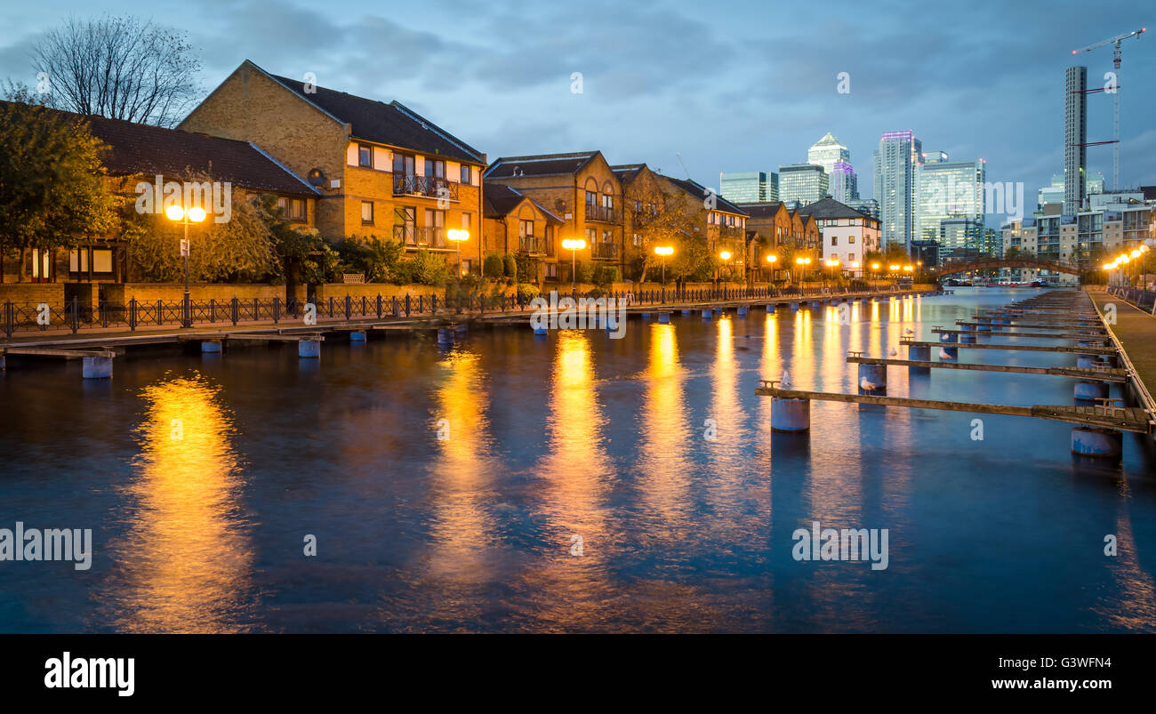 London, Isle of Dogs - Stock Image