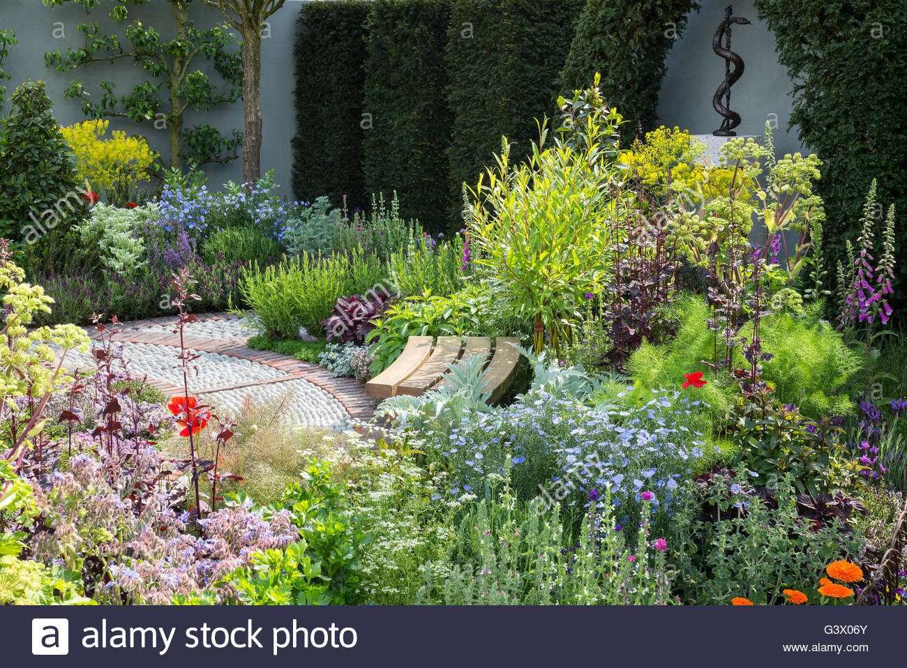 Superbe The St Johnu0027s Hospice U2013 A Modern Apothecary Garden. RHS Chelsea Flower  Show. Designer