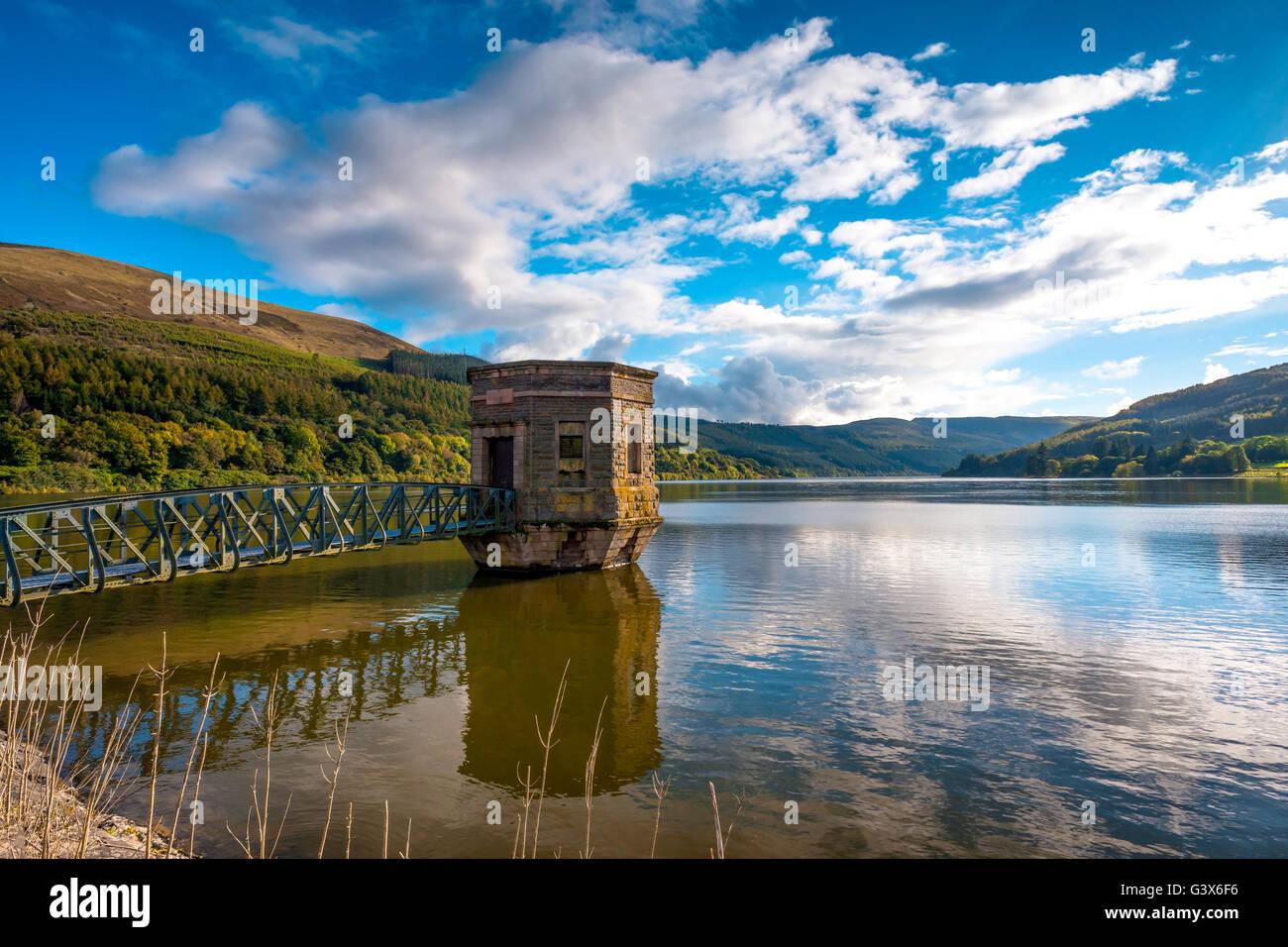 Talybont Reservoir Lake - Stock Image