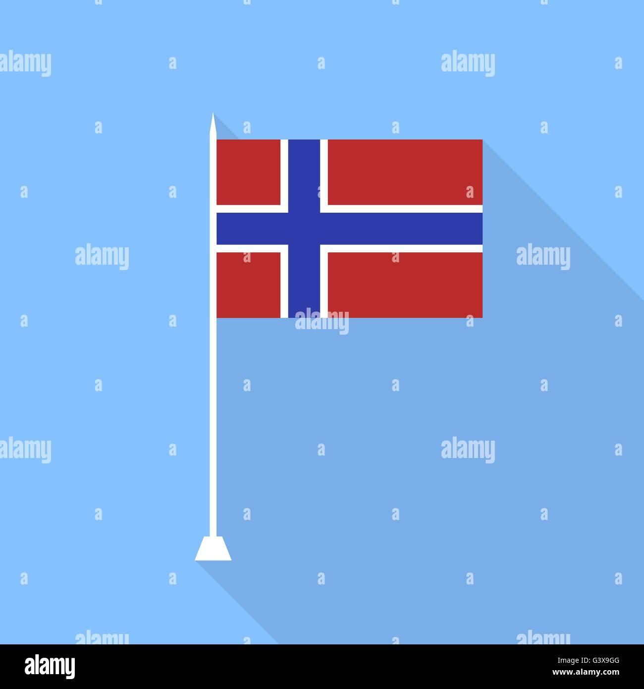 Flag of Norway. - Stock Vector