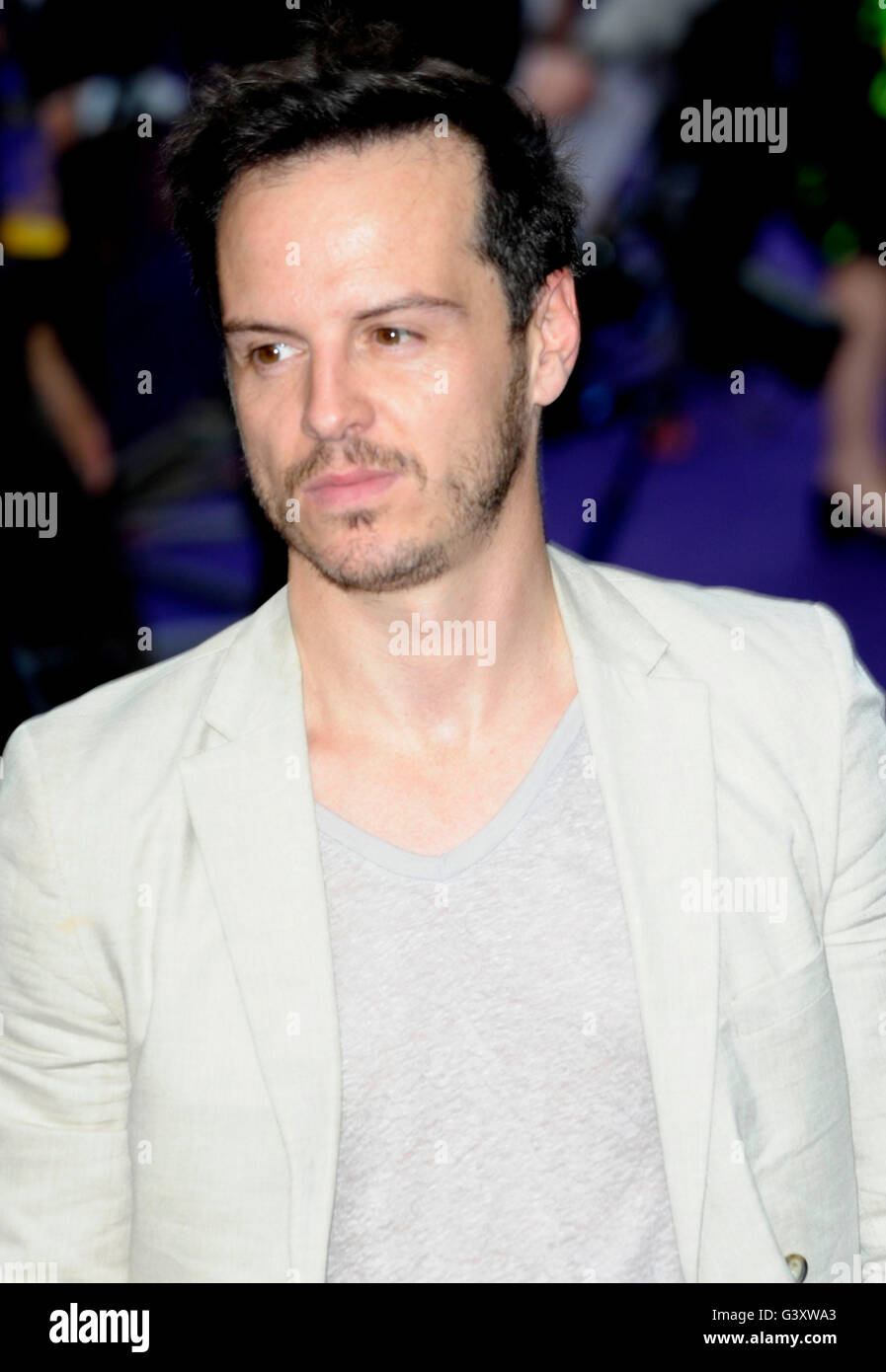 London, UK. 15th June, 2016. Jack Gallloway attending the Opening Night of DISNEY S ALADDIN at Prince Edward Theatre - Stock Image