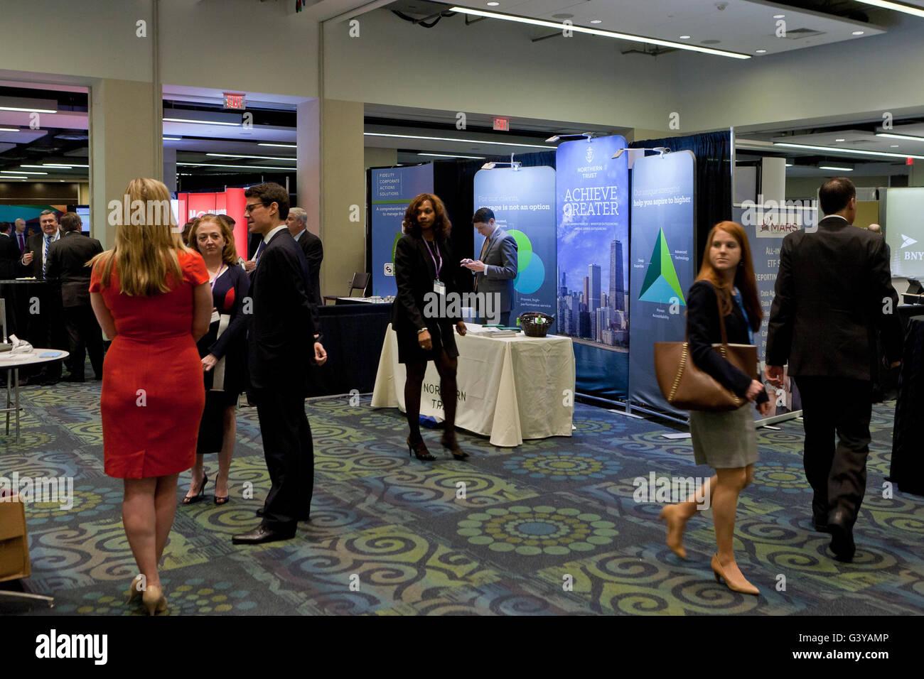 Business expo - USA - Stock Image