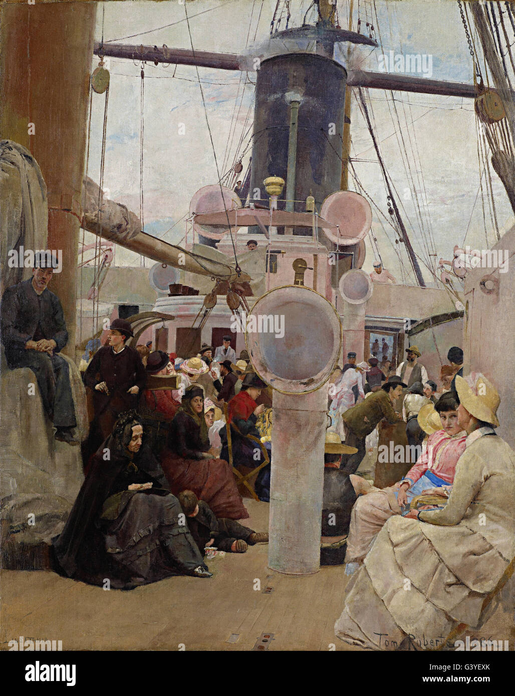 Tom Roberts - Coming South - Stock Image