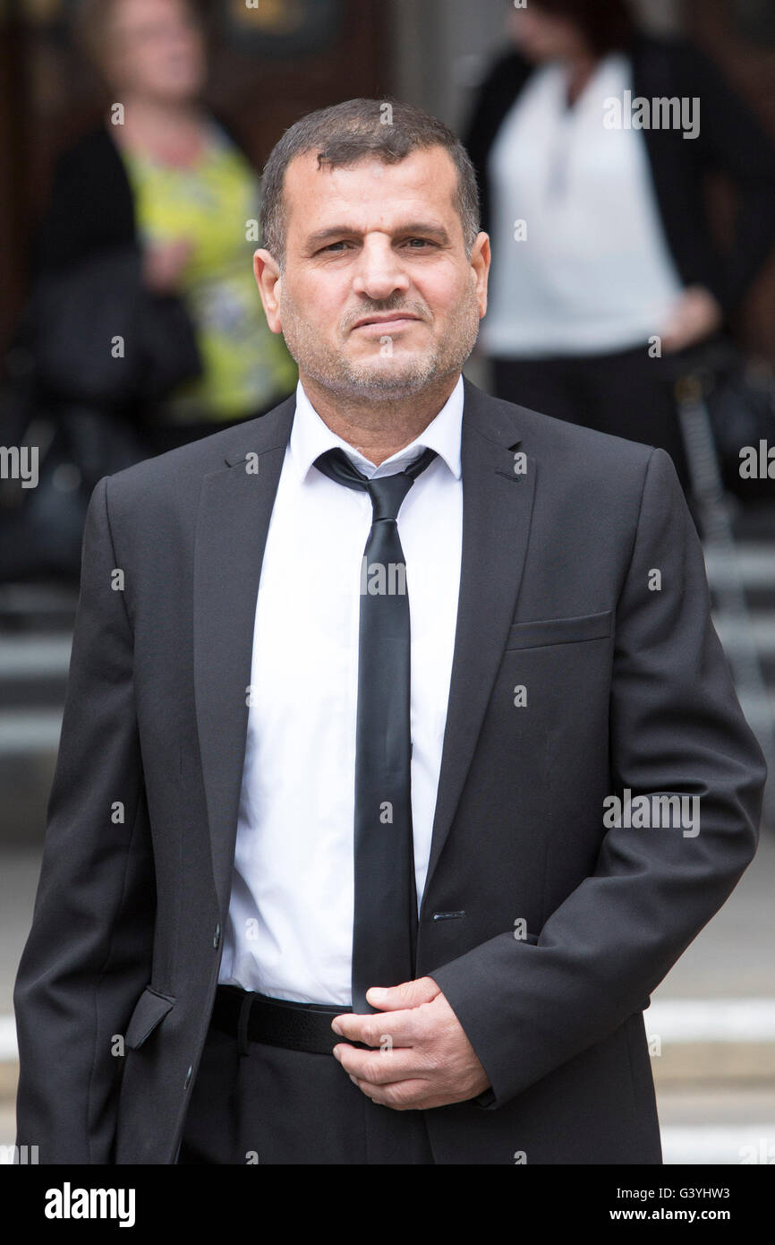 Abd Al Waheed Leaves The Royal Courts Of Justice In London Where He Is Claiming Damages For Alleged Unlawful Detention And Mistreatment By UK Armed Forces
