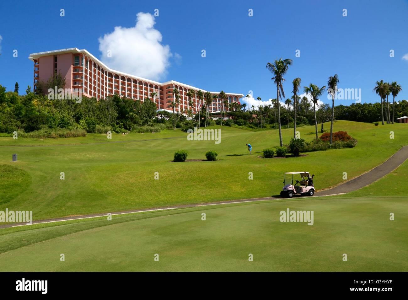 Fairmont Southampton in Bermuda - Stock Image