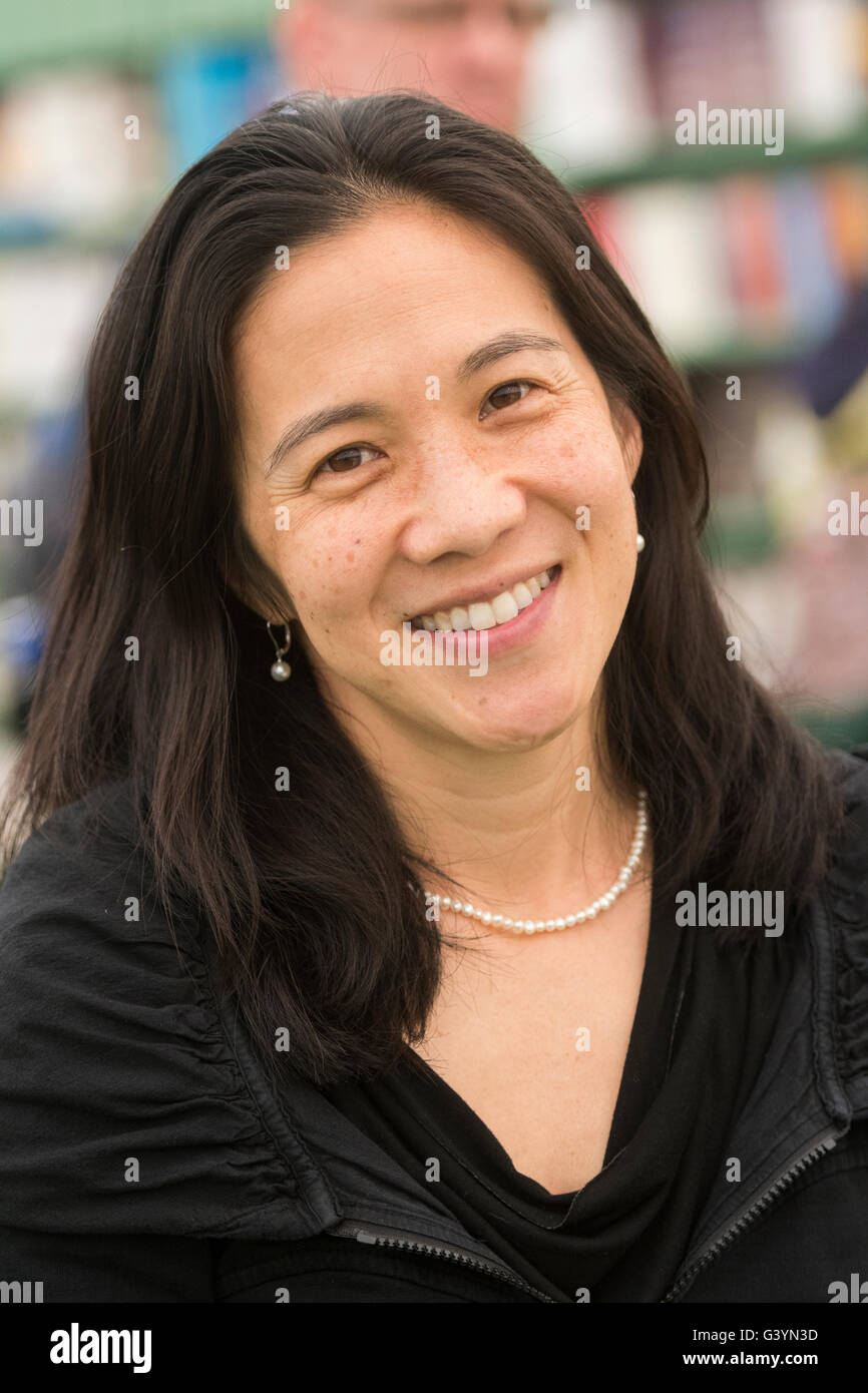 Angela Duckworth: American psychologist. Winner 2013 MacArthur Fellowship.  Author of the book 'Grit: The power - Stock Image
