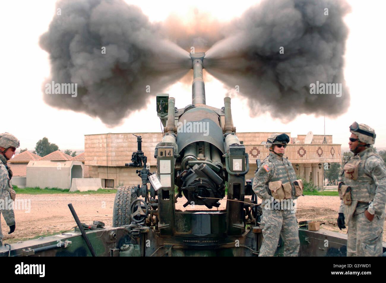 ВM198 155mm Towed Howitzer 5X7 PHOTOGRAPH US Marine Corps USMC