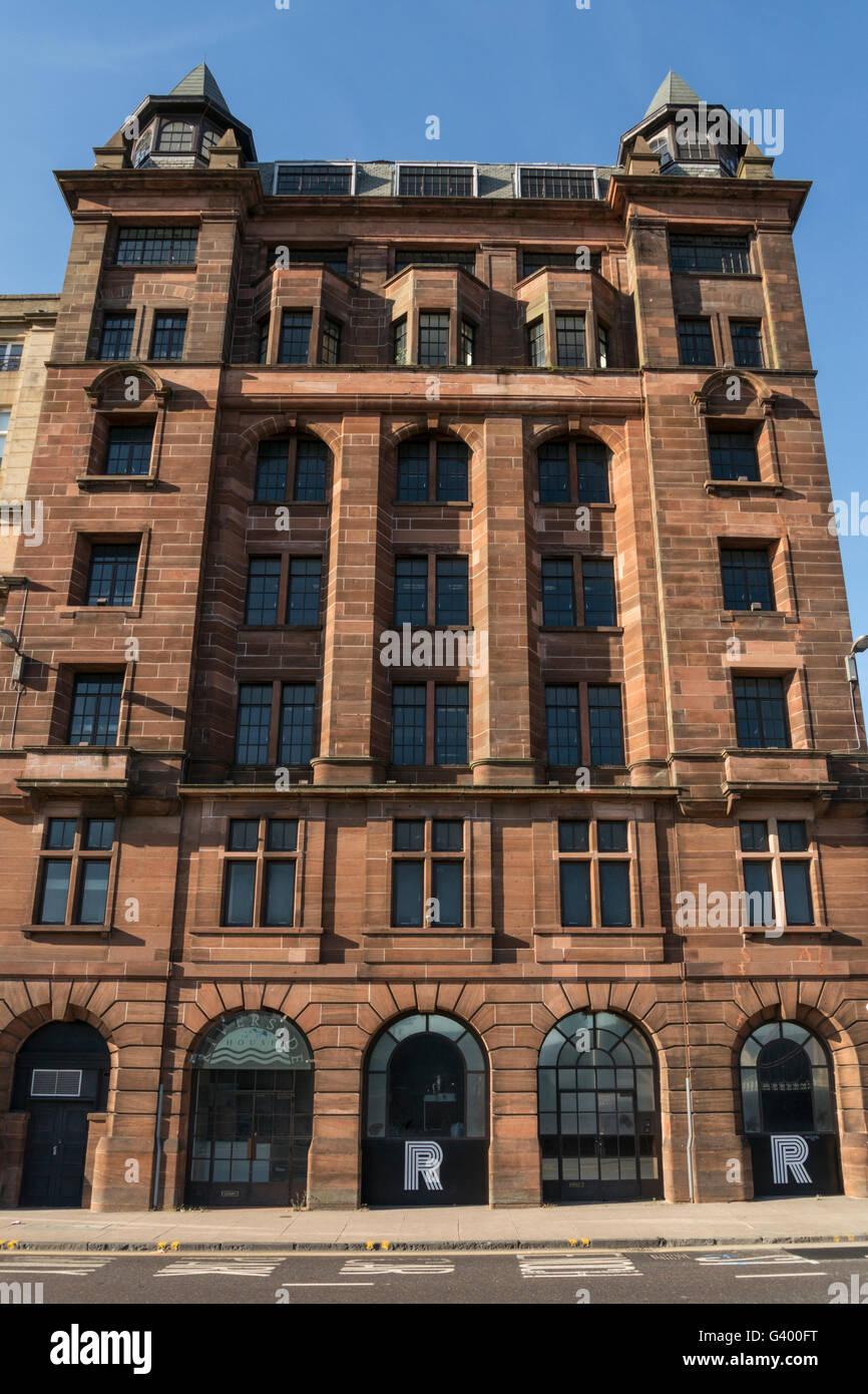 Riverside House,Clyde Street, Glasgow,Scotland,UK, Stock Photo
