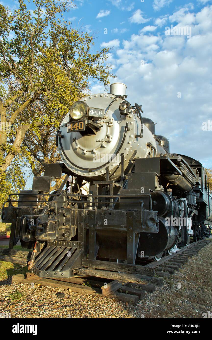 440 SooLine Steam Locomotive. Stock Photo