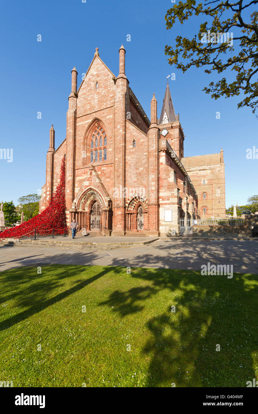 St Magnus cathedral - Stock Image