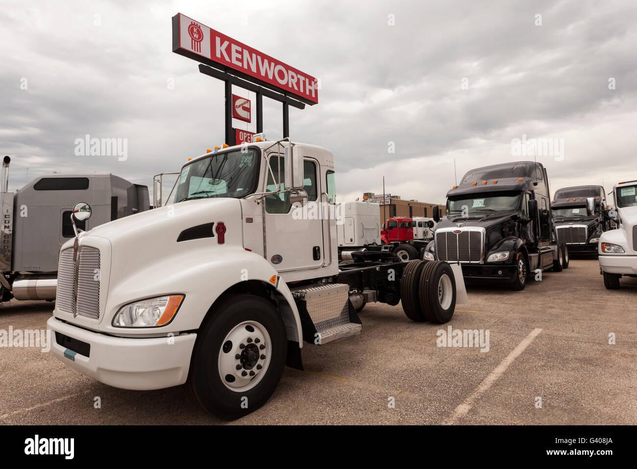New Kenworth T270 Truck - Stock Image