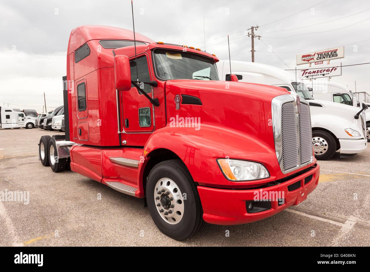 New Kenworth T680 Truck - Stock Image