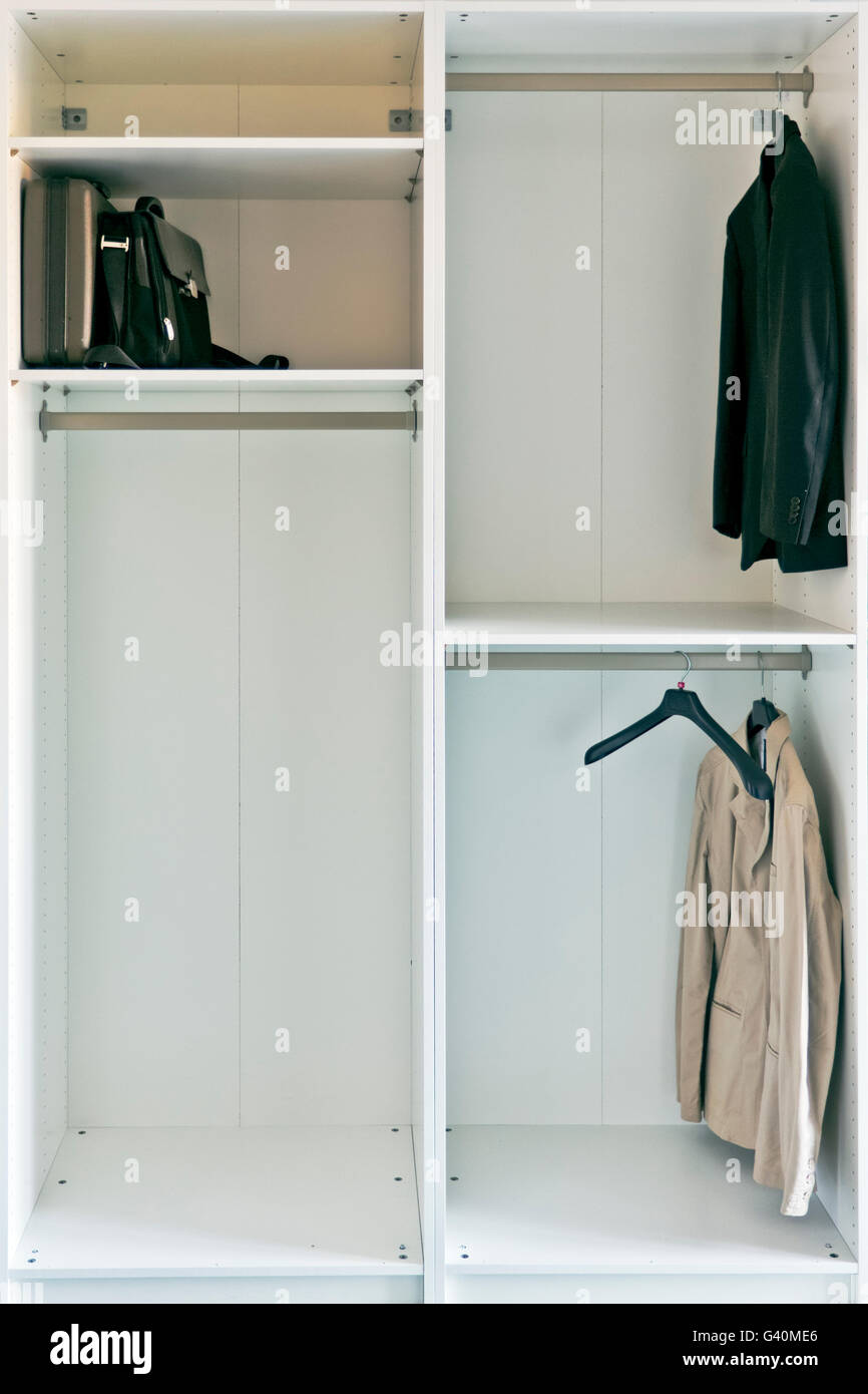 Closet - Stock Image