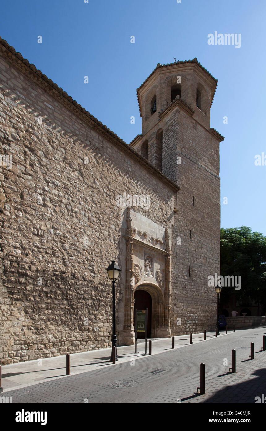 Church Iglesia de la Magdalena, Jaén, Andalusia, Spain, Europe - Stock Image