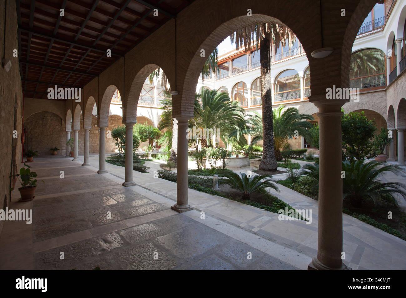 Hospital de San Juan de Dios, town of Jaén, Andalusia, Spain, Europe - Stock Image