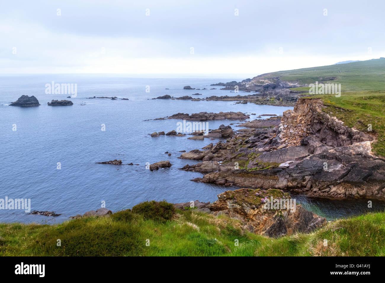 Dunquin, Dingle Peninsula, County Kerry, Ireland Stock Photo
