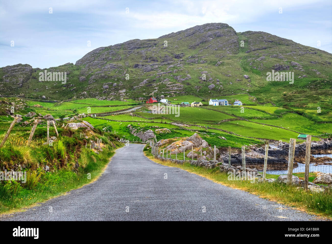 Cleanderry, Beara Peninsula, County Cork, Ireland - Stock Image