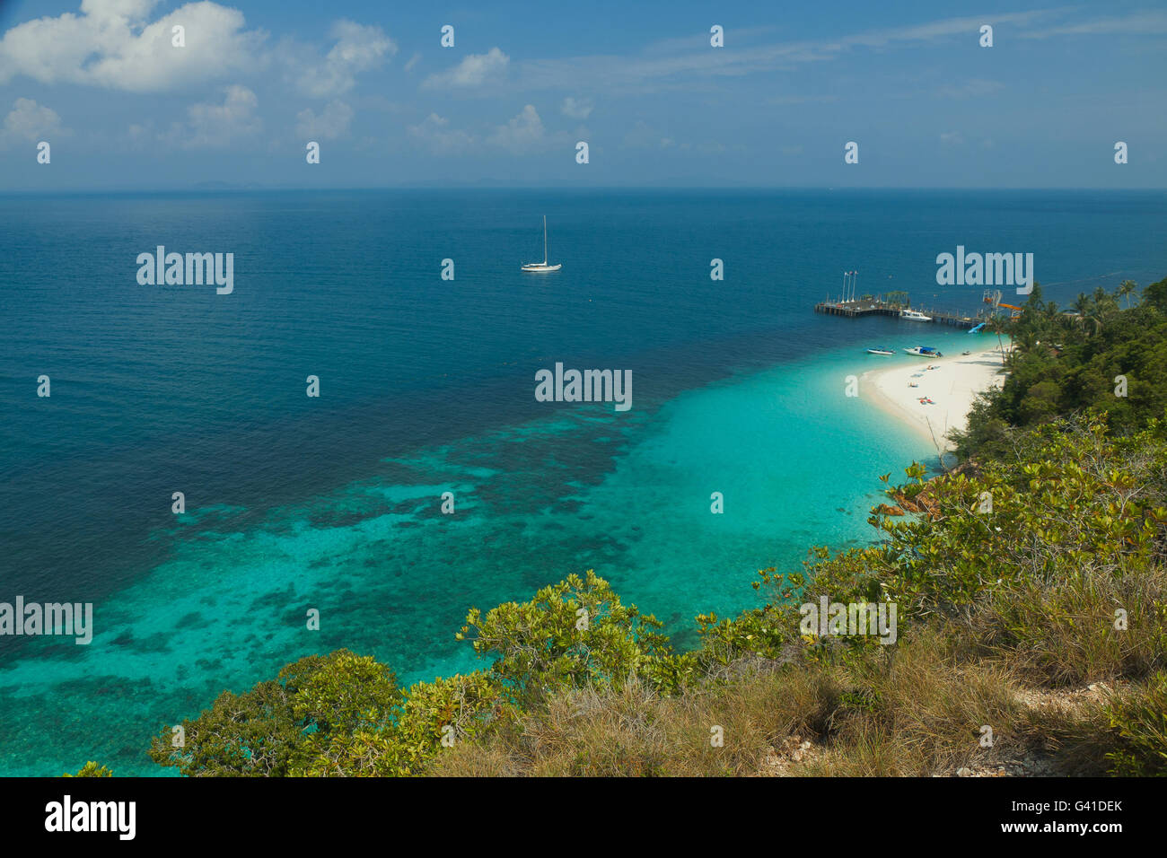Lagoon Tropical Island: Rawa Island Stock Photos & Rawa Island Stock Images