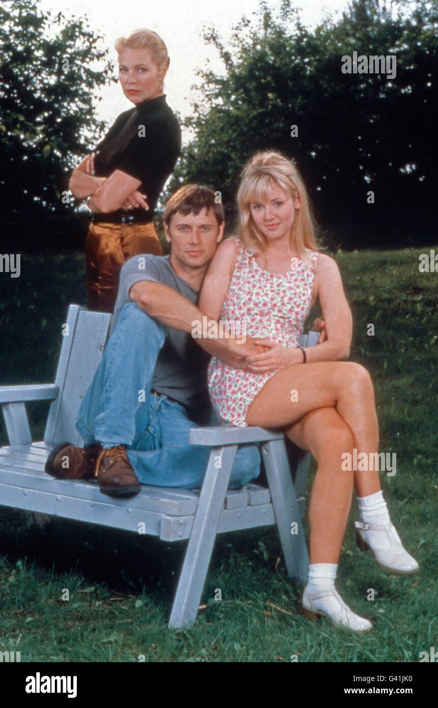 Pretty Poison, Fernsehfilm, Canada/USA 1996, Regie: David Burton Morris, Darsteller: Michelle Phillips (oben), Grant - Stock Image