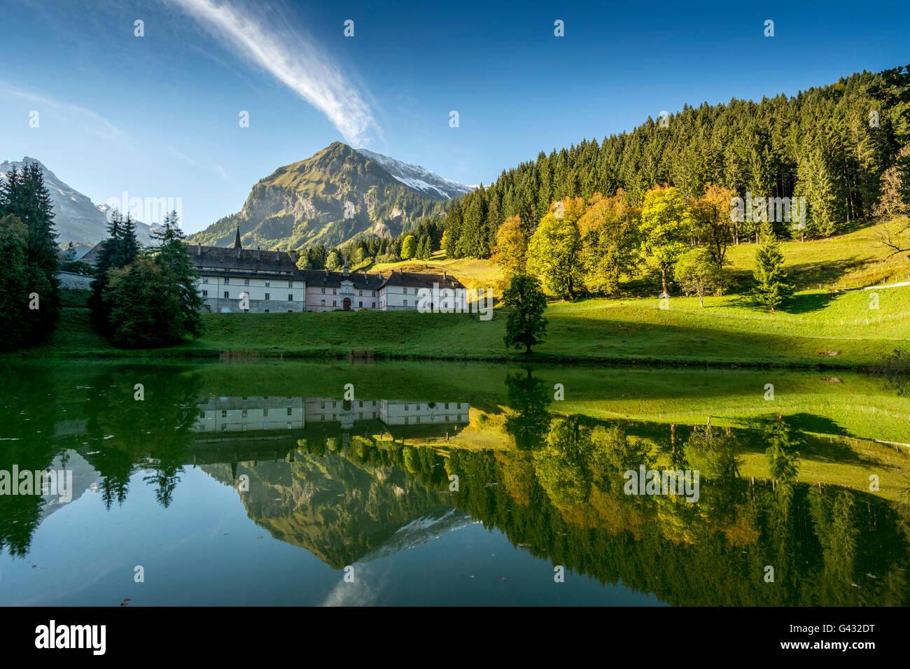 Chartreuse du Reposoir, Haute Savoie, Auvergne-Rhone-Alpes, France, Europe - Stock Image