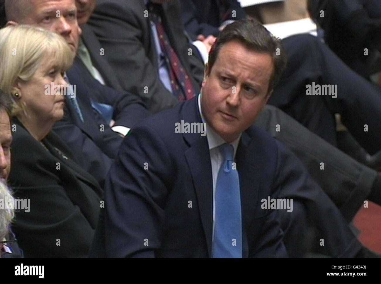 Prime Minister's Questions Stock Photo