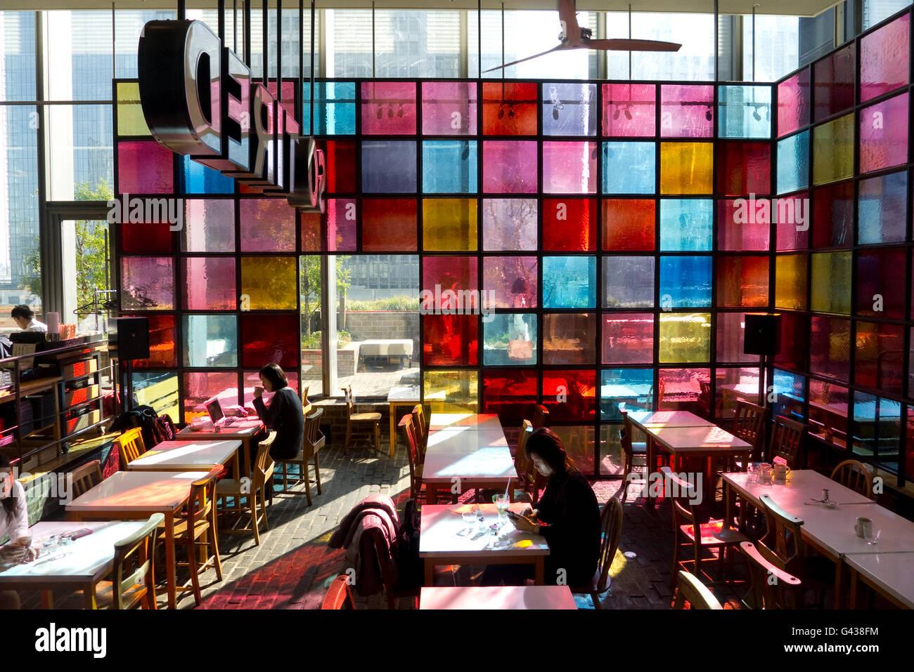 So Tired restaurant and cafe, Marunouchi, Chiyoda, Tokyo, Japan    Credit © Fabio Mazzarella/Sintesi/Alamy - Stock Image