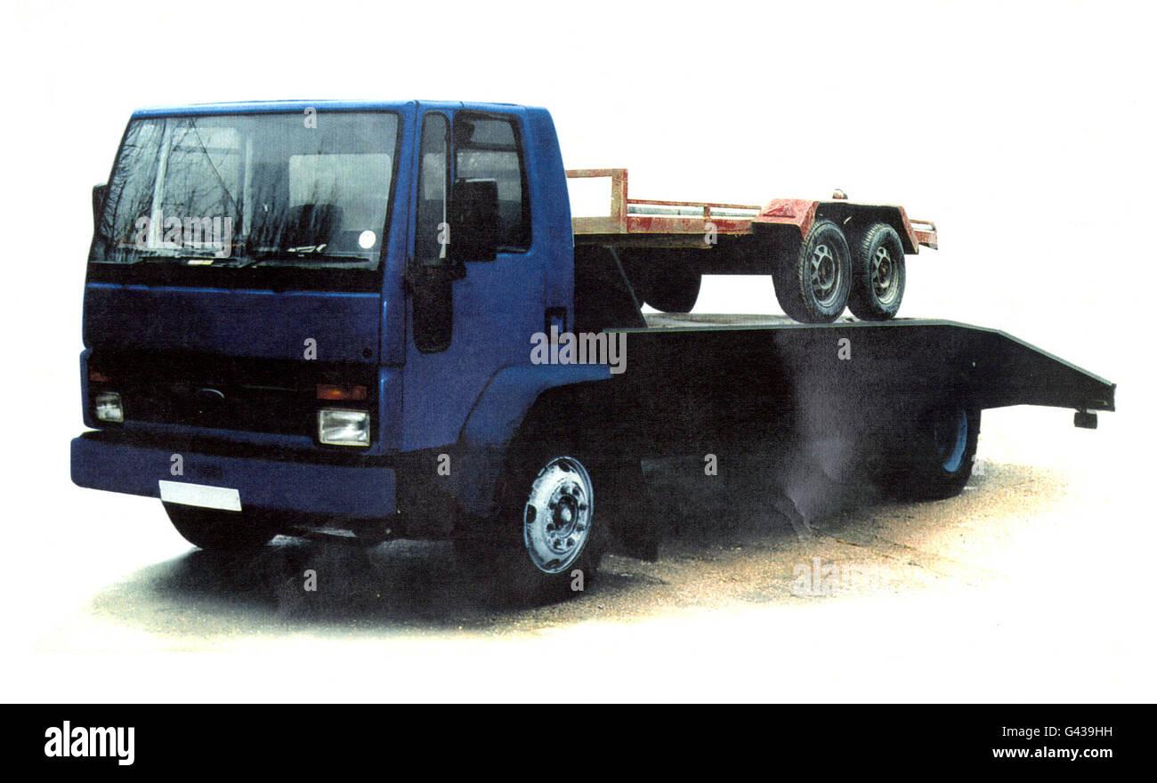 BOMB Lorry1 - Stock Image