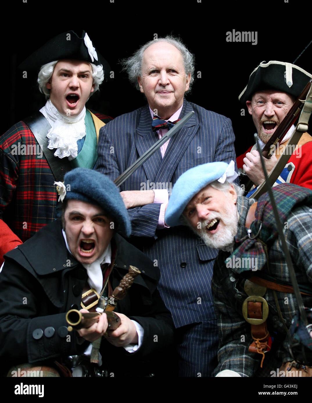 Fundraiser for Battle of Prestonpans centre Stock Photo