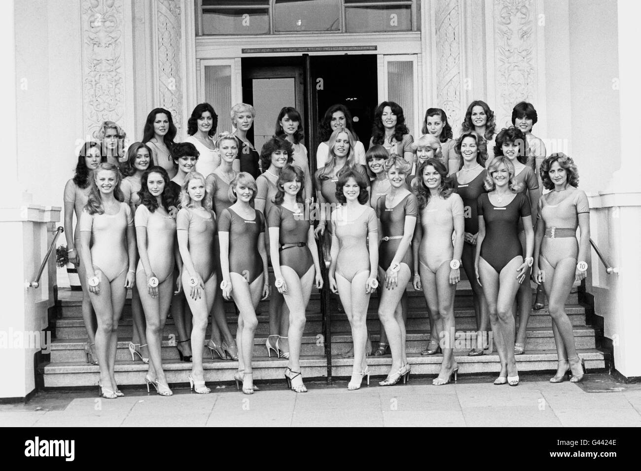 Beauty Contests - Miss UK - Brighton - Stock Image