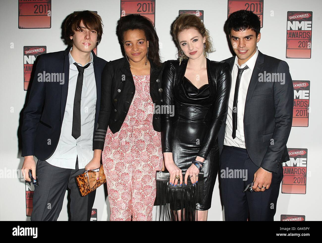 NME Awards 2011 - Arrivals - London - Stock Image