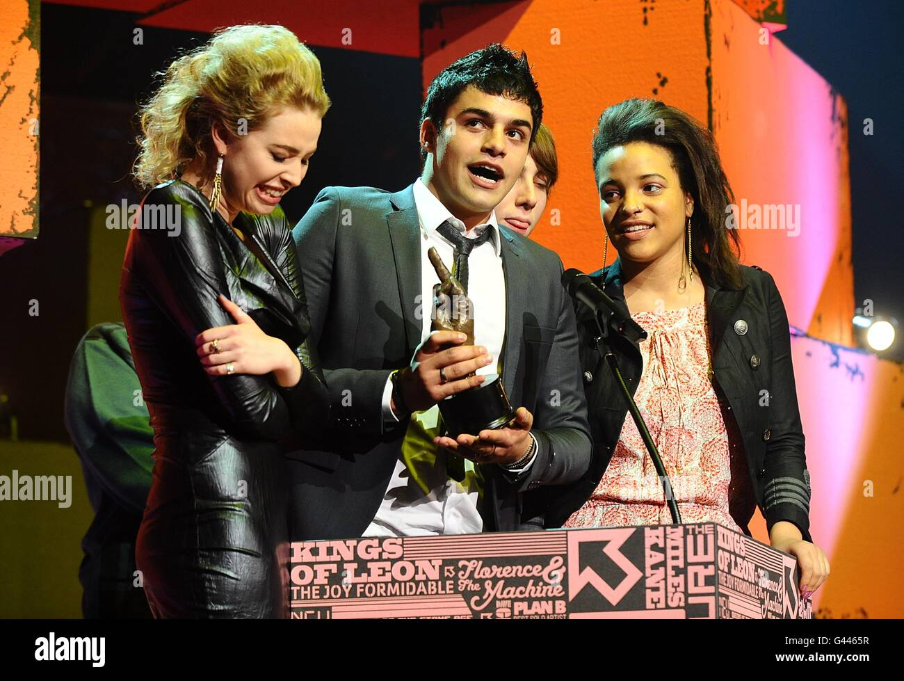 NME Awards 2011 - Show - London - Stock Image