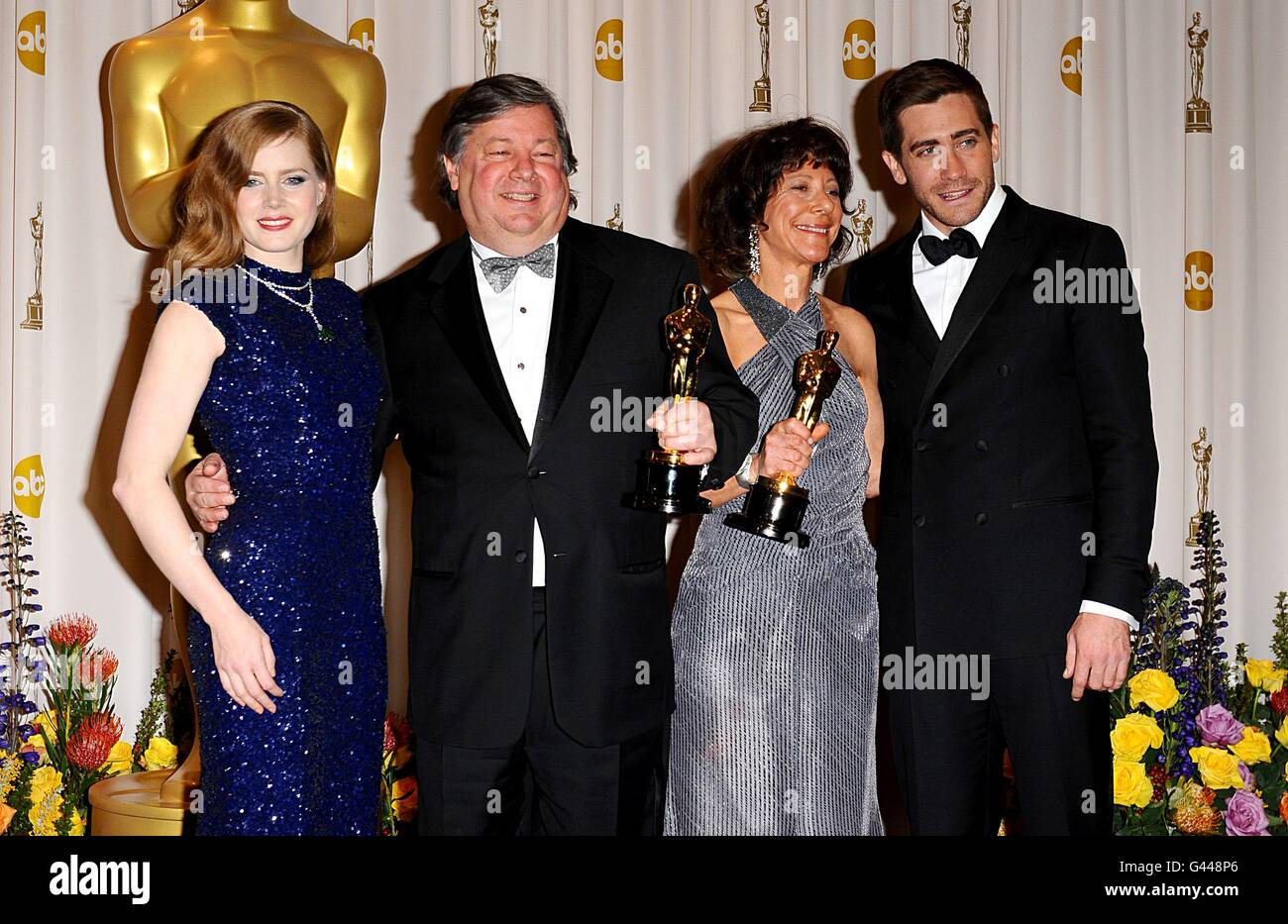 The 83rd Academy Awards - Press Room - Los Angeles - Stock Image