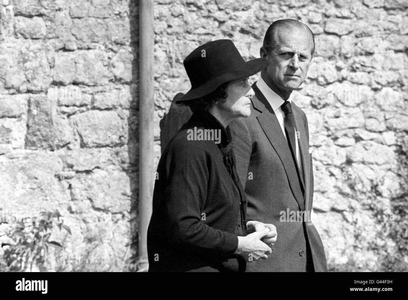 Royalty - Dowager Lady Brabourne and Nicholas Knatchbull Funeral ...