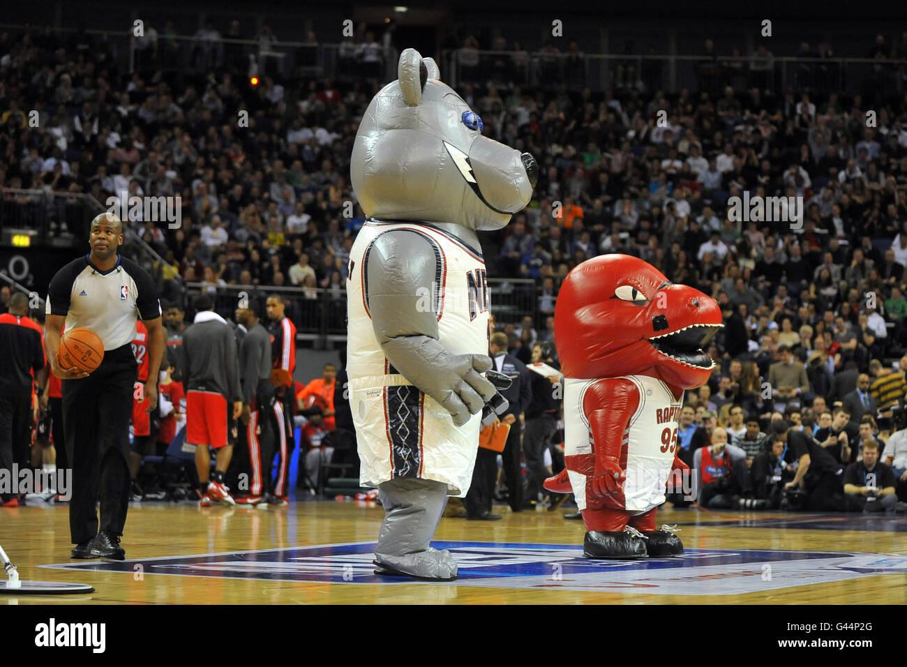 online store 4742b 2b8f6 Basketball - NBA - Game One - New Jersey Nets v Toronto ...