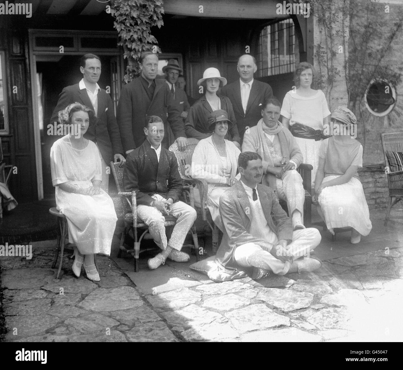 High Society - Viscount Birkenhead's Weekend Tennis Party - - Stock Image