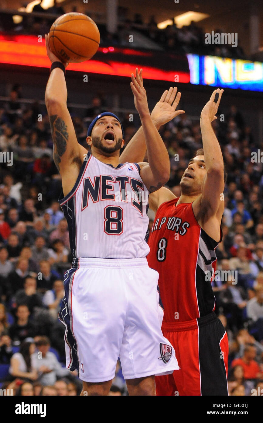 8cb872796 Basketball - NBA - Game One - New Jersey Nets v Toronto Raptors - o2 Arena