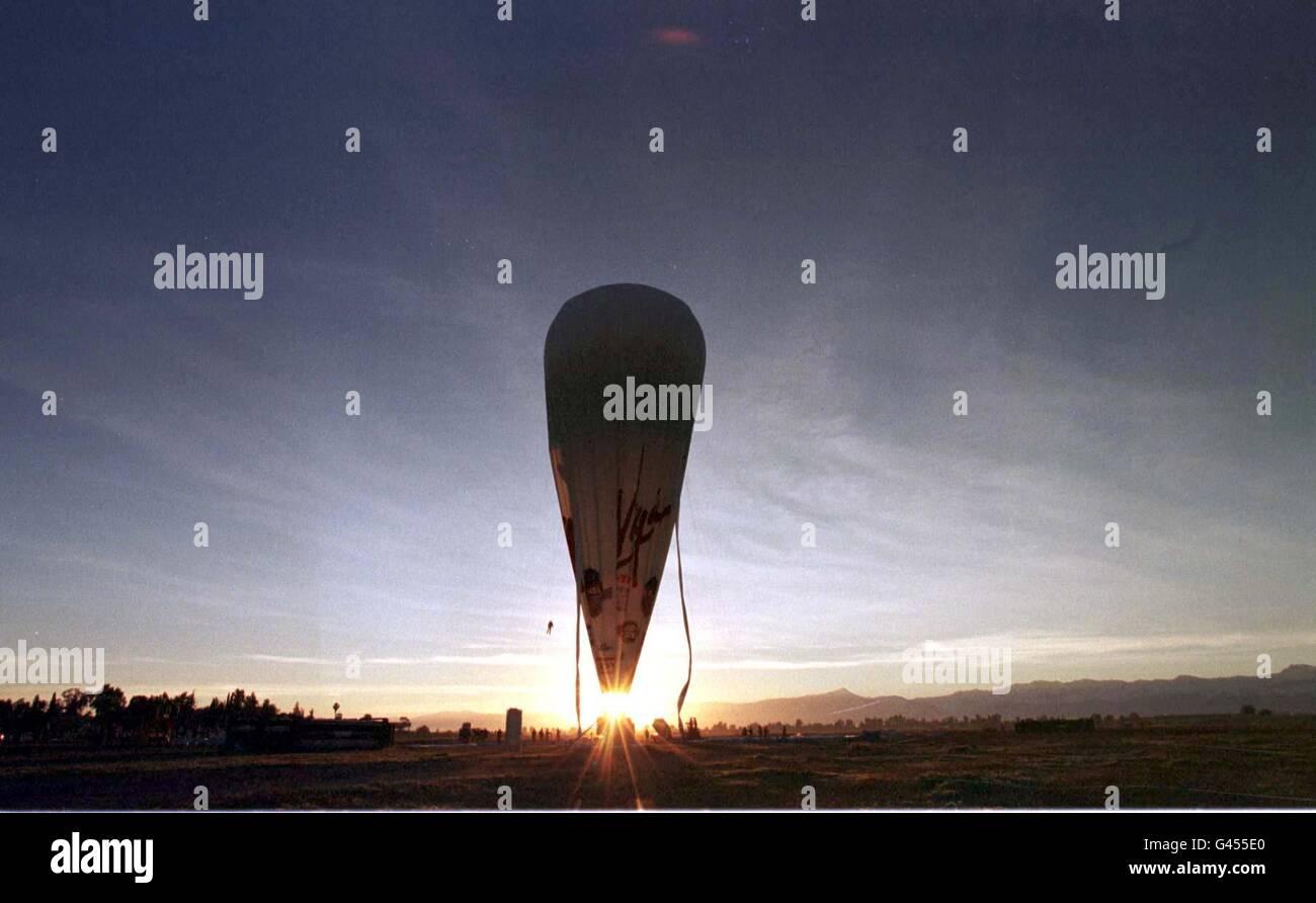 AIR Branson balloon Stock Photo